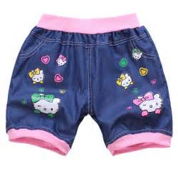 cat shorts 2014 new hello kitty cat baby toddlers shorts children