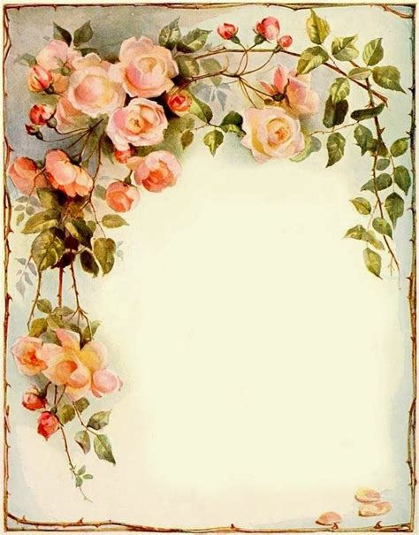 flower stationary images  pinterest writing