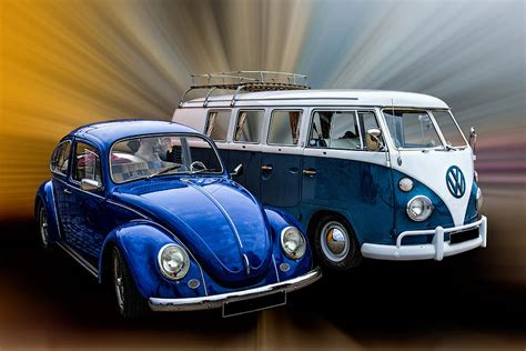 Classic Volkswagens Photograph by Thanet Photos
