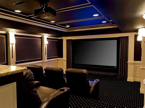 Basement Home Theaters And Media Rooms Pictures, Tips