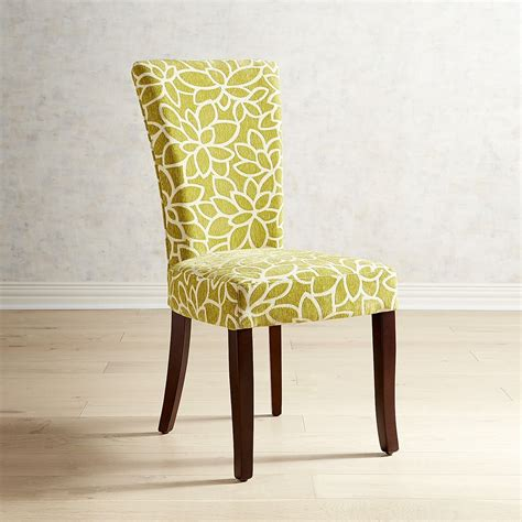 Kitchen Furniture Adelaide by Adelaide Green Floral Chenile Dining Chair Dining Room