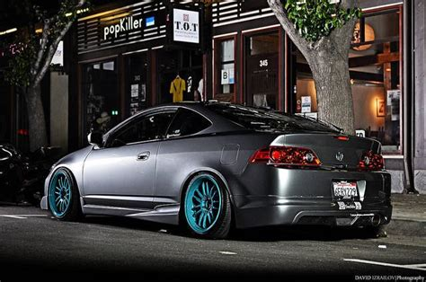 grey silver  blue rims slammed  beauty rpm city