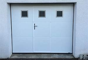 porte de garage sectionnelle avec portes fenetres pvc With porte de garage enroulable avec photo porte fenetre pvc
