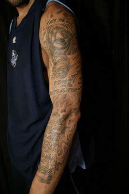 Tatouage Lebron James Miami Heat, Les Tattoos De King