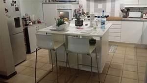 Ilot De Cuisine : un ilot de cuisine moderne pas cher ~ Teatrodelosmanantiales.com Idées de Décoration