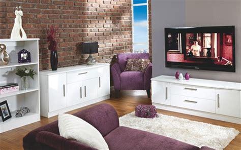 Living Room Range (white High Gloss)- More Options