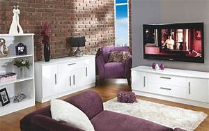 Living room range white high gloss more options for White gloss furniture living room