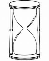Hourglass Clipart Drawing Clip Sand Coloring Glass Hour Clock Pages Colouring Cliparts Potter Harry Apa Line Activity Clipartbest sketch template