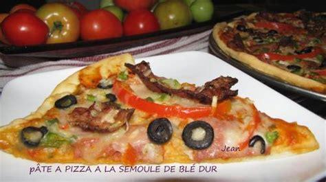 pate a pizza semoule p 226 te a pizza a la semoule de bl 233 de nell recettes