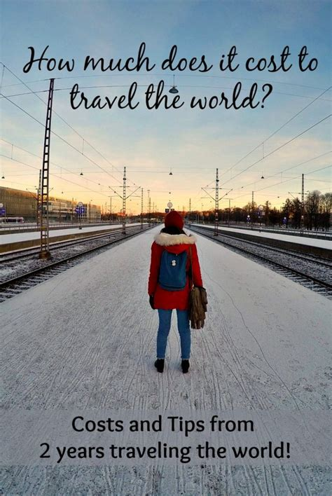how much does it cost to travel the world for 2 amazing