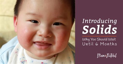Introducing Solids Why You Should Wait Until 6 Months