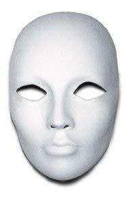 large blank printable face mask blank