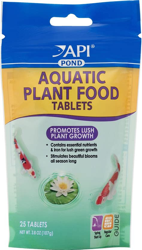 api cuisine api pond aquatic plant food 25 count chewy com
