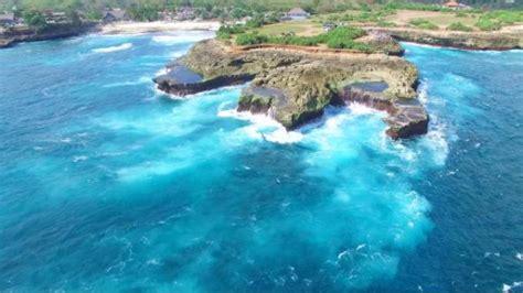 Fast Boat Murah Ke Lembongan by Terjangan Ombak Menambrak Batu Karang Di Devil S Tears
