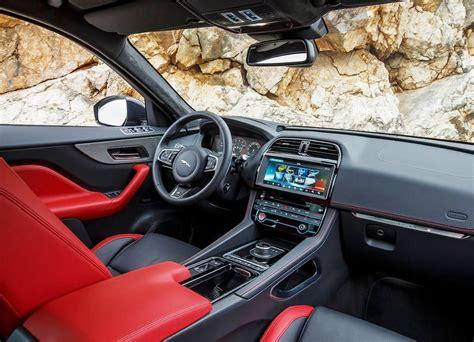 jaguar  pace interior features   suv