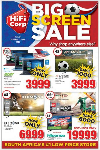 hifi corp weekly specials catalogue  apr
