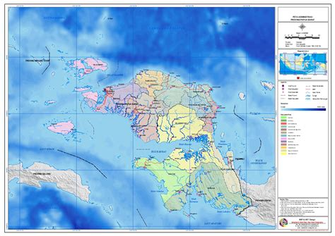 bpk ri perwakilan provinsi papua barat peta administrasi