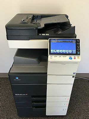 Konica minolta bizhub c454 win 7 driver. Konica Minolta Bizhub C454 Copier Printer Scanner Fax 96k ...