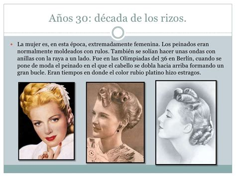 historia del peinado  maquillaje durante el  xx