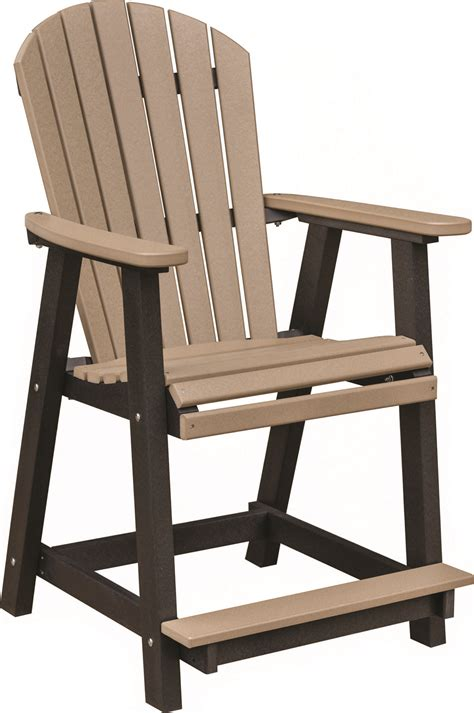 counter chair jims amish structures