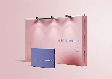Free mockup in psd format. Free Exhibition Stand Mockup | Mockuptree