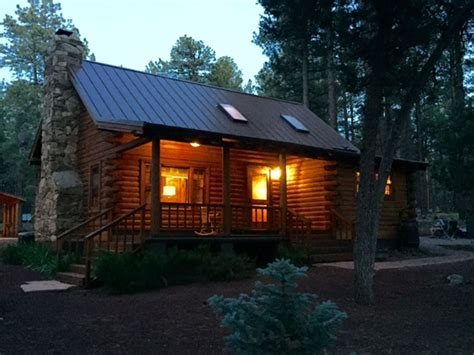 cabin rentals in flagstaff real log cabin guest cabin flagstaff vrbo