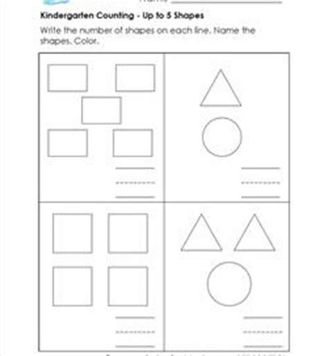 Kindergarten Counting Worksheets  A Wellspring Of Worksheets