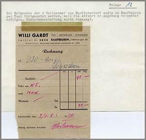 Taxi Abrechnung : 7 2 2 4 schwaben berlin fahrt 1960 abrechnung ~ Themetempest.com Abrechnung