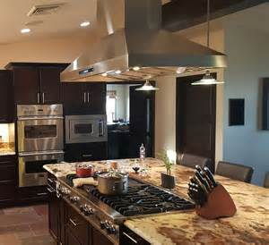 kitchen island vents customer submitted range photos proline range hoods proline range hoods