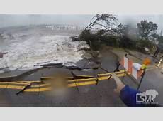 POV of Hermine's Storm Surge and Waves! Alligator Point