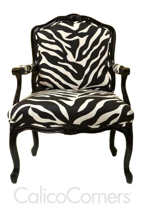 zebra upholstery on your chair