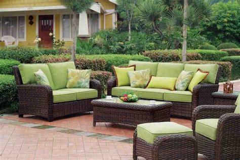 outdoor resin wicker patio furniture sets decor ideas