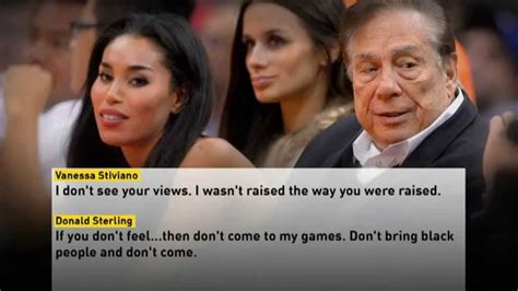 donald sterling  punished  alleged racist