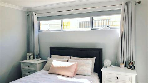 bedroom curtains white  awning windows  bed colorschemes homecolors bedroomideas