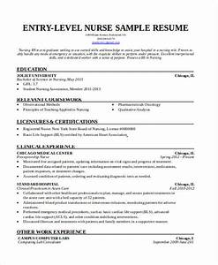 36 resume format free word pdf documents download With entry level registered nurse resume