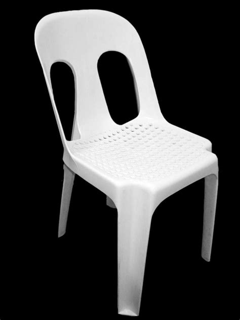 white pipee chair web seat vip hire warehouse