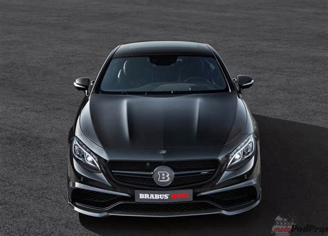 Genewa 2018 Brabus 850 60 Biturbo Coupe Tuning W