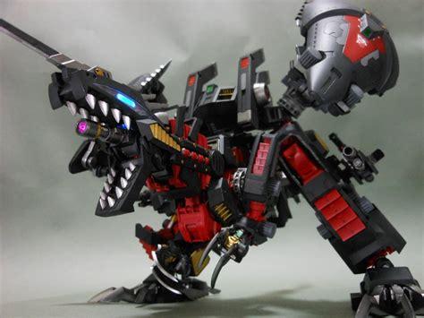 zoids power geno breaker raven ver full leds