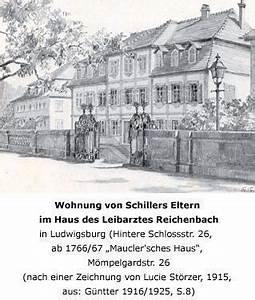 Haus Und Grund Ludwigsburg : familienleben in ludwigsburg friedrich schiller ~ Watch28wear.com Haus und Dekorationen