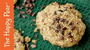 RAW VEGAN CHOCOLATE CHIP COOKIE | THE HAPPY PEAR - YouTube