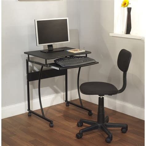 computer desk and chair set simple living computer desk cart and office chair set