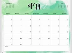 April 2018 Calendar Australia with Holidays Printable
