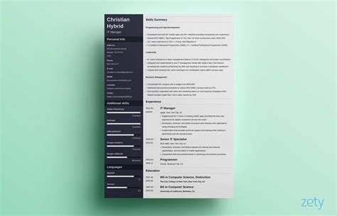 Combination Resume Template & 5+ Examples [complete Guide]