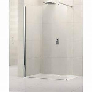Ecrans et parois de douche comparez les prix pour for Longueur douche italienne sans porte