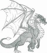 Dragon Coloring Realistic Pages Worksheets Dragoart Via sketch template
