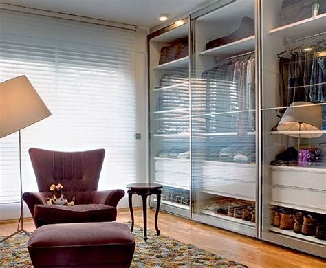 tendencia  guarda roupa  portas de vidro decor
