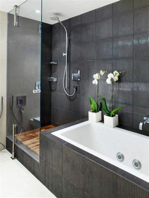 Badewannen Mit Dusche by Moderne Badgestaltung Mit Einer Badewanne Dusche Wand