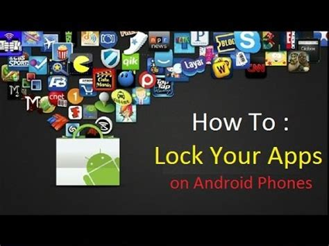 how to lock apps on android how to lock protect android apps lock apps galery