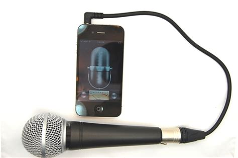 iphone microphone iphone xlr microphone adapter 3 5mm 4 conductor trrs