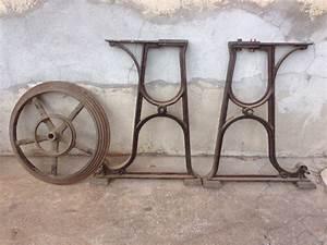 Pied De Table Basse Metal Industriel : tables basses mobilier industriel l 39 or du temps ~ Teatrodelosmanantiales.com Idées de Décoration